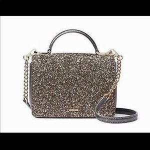 KATE SPADE ♠️ GLITTER CROSS BODY PURSE